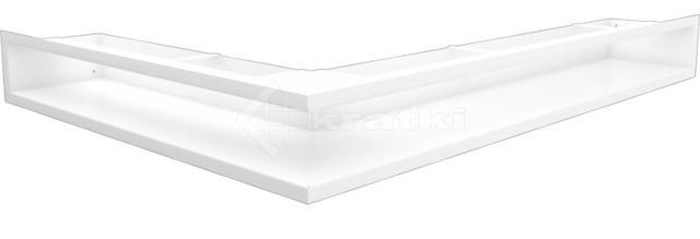 Решетка для камина Kratki Luft 45SF NP 54,7x76,6x9 белая (LUFT/NP/90/45S/B/SF)