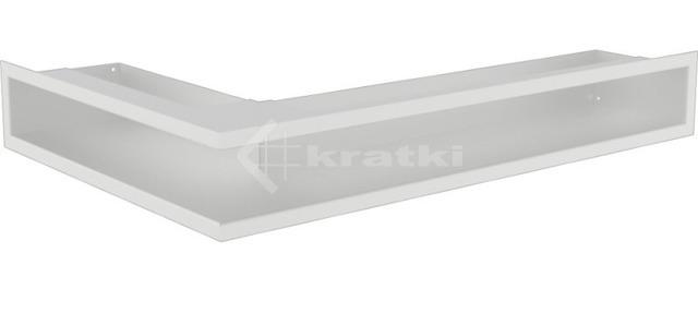 Решетка для камина Kratki Luft 45SF NP 40x60x9 белая (LUFT/NP/9/40/45S/B/SF)
