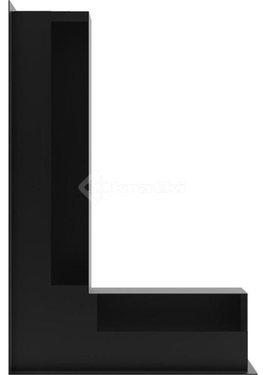 Решетка для камина Kratki Luft 45SF NL 60x40x9 черная (LUFT/NL/9/40/45S/C/SF). Фото 3