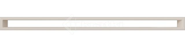 Решетка для камина Kratki Tunel 6x100 кремовая