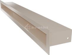 Решетка для камина Kratki Tunel 6x60 кремовая. Фото 2