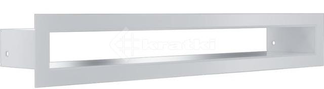 Решетка для камина Kratki Tunel 6x40 белая