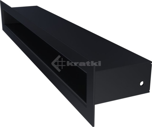 Решетка для камина Kratki Tunel 6x40 графитовая. Фото 3
