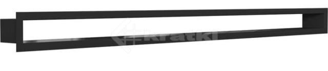 Решетка для камина Kratki Tunel 6x100 черная. Фото 2