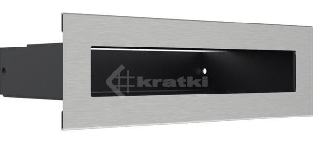 Решетка для камина Kratki Tunel 6x20 шлифованная. Фото 3