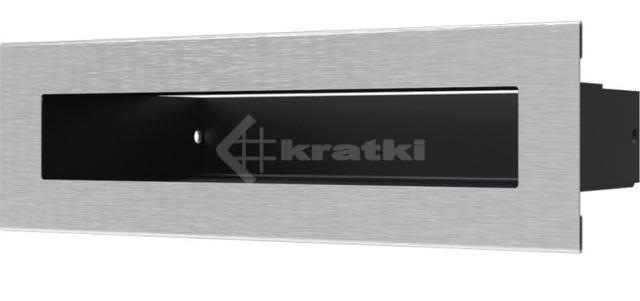 Решетка для камина Kratki Tunel 6x20 шлифованная. Фото 2