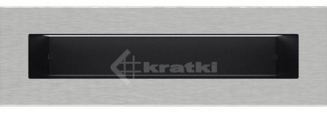 Решетка для камина Kratki Tunel 6x20 шлифованная