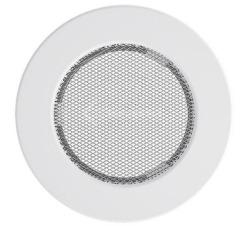 Решетка для камина Kratki круглая FI 150 белая