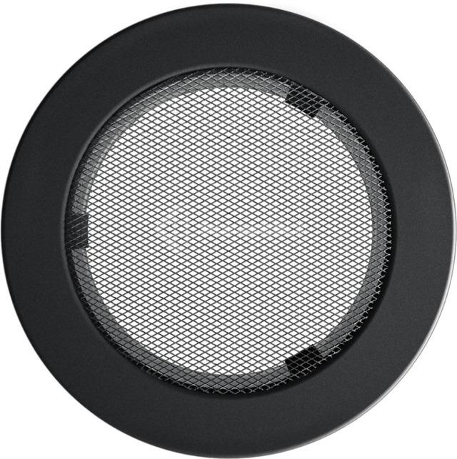 Решетка для камина Kratki круглая FI 150 графитовая