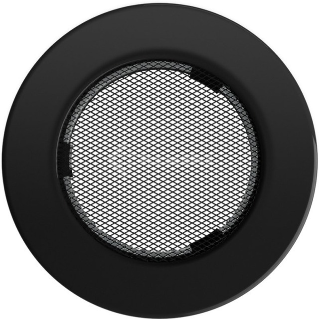 Решетка для камина Kratki круглая FI 100 черная