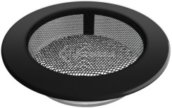 Решетка для камина Kratki круглая FI 150 черная. Фото 2