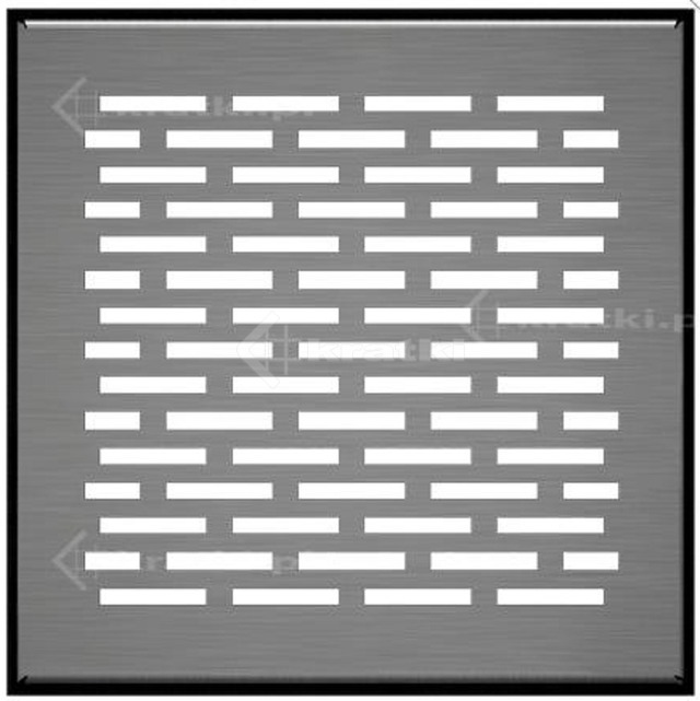Решітка для підлоги Kratki Floor 17х17 шліфована