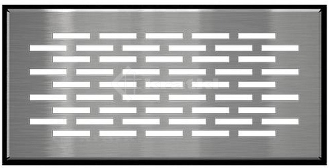 Решетка для пола Kratki Floor 9х20 шлифованная