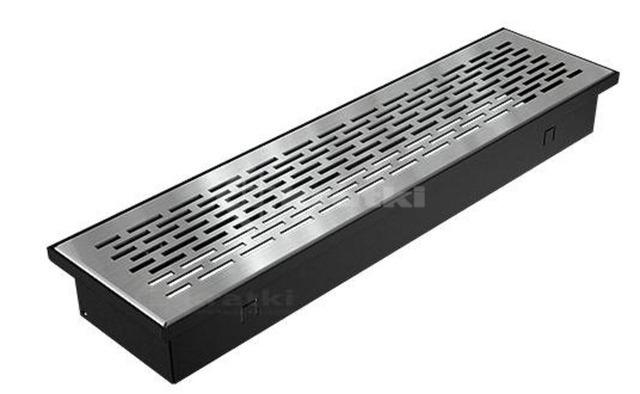 Решетка для пола Kratki Floor 9х40 шлифованная. Фото 2