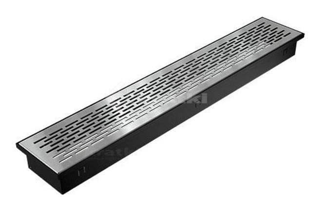 Решетка для пола Kratki Floor 9х60 шлифованная. Фото 2