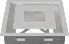 Решетка для камина Kratki Wind 22х22 белая. Фото 6
