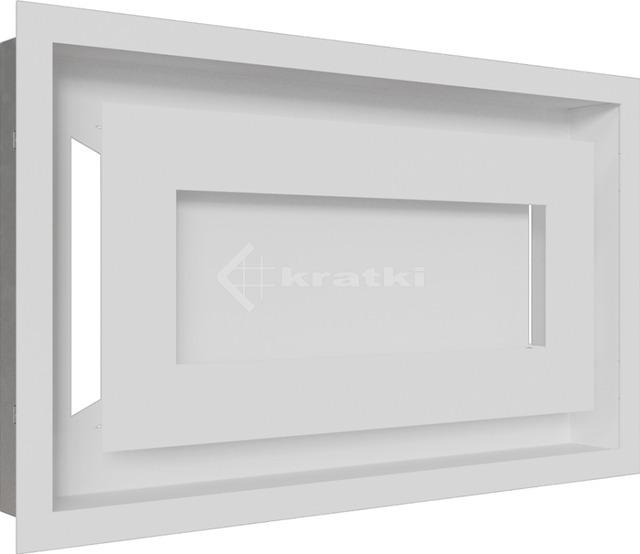 Решетка для камина Kratki Wind 22х37 белая