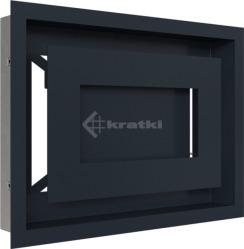 Решетка для камина Kratki Wind 22х30 графитовая